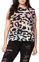 Rachel Roy Plus Size Women's Side Drape Top