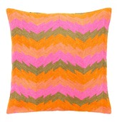 Mela Artisans Frenzy In Pink Decorative Pillow