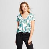 Merona Women's Printed Vintage V-Neck T-Shirt
