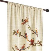 "Pier 1 Imports Feathered Fellows 84"" Curtain"