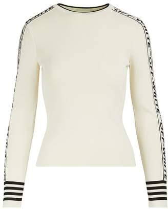Off-White Off White Logo crewneck sweater