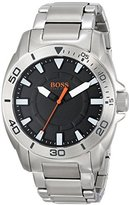 HUGO BOSS BOSS Orange Men's 1512946 Big Day Analog Display Quartz Silver Watch