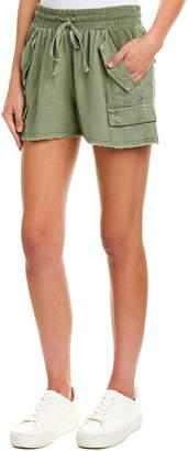 Splendid Dockside Linen-Blend Short