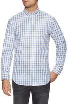 James Tattersall Plaid Dress Shirt