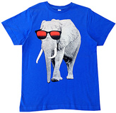 Micro Me Royal Blue Sunglasses Elephant Tee - Infant Toddler & Boys