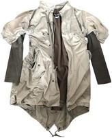 Junya Watanabe Green Cotton Coat for Women