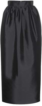 The Row Ranel duchess silk maxi skirt