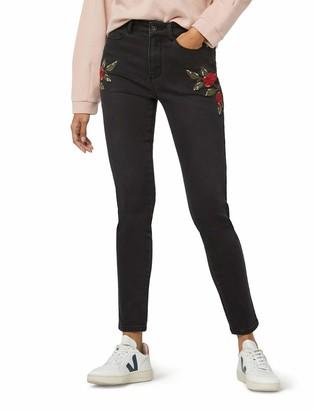 Find. Embroidered Slim Jeans