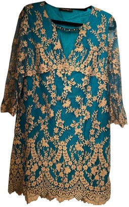 Twin-Set Twin Set Turquoise Lace Dress for Women