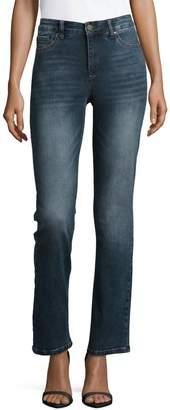 Jones New York Classic Straight Leg Jeans