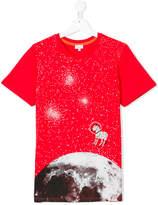 Paul Smith space print T-shirt