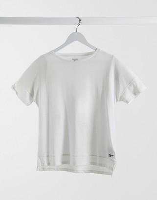 Reebok activchill cotton T-shirt in white
