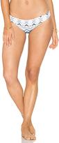 Eberjey Varadero Valentina Bikini Bottom in Blue. - size S (also in )