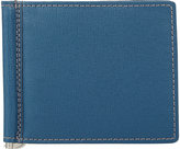Barneys New York MEN'S MONEY CLIP BIFOLD WALLET-BLUE
