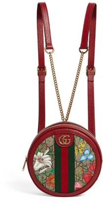 Gucci Mini Gg Flora Ophidia Backpack