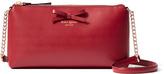 Kate Spade Pillbox Red Sawyer Street Declan Leather Crossbody Clutch