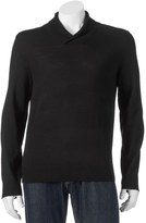 Apt. 9 Men's Modern-Fit Marled Merino Shawl-Collar Sweater