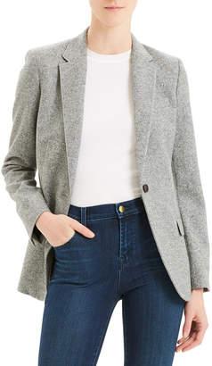 Theory Speckle Wool Staple Blazer