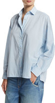 Vince Easy Button-Front Shirt