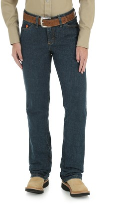 Riggs Workwear Women's Flame Resistant Western Midrise Boot Cut Jean