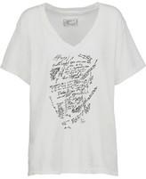 Current/Elliott Printed Cotton T-Shirt
