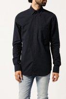 Nudie Jeans Stanley Dark Chambray Shirt