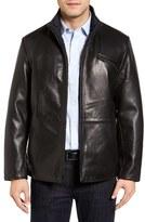 Men's Robert Comstock Reversible Lambskin Leather Jacket