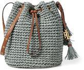 Ralph Lauren Straw Janice Bag