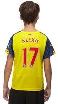 Puma Arsenal FC 2014/15 Alexis #17 Away Shirt Junior