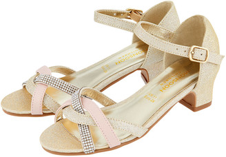 Monsoon Marianna Dancing Strappy Sandals Gold