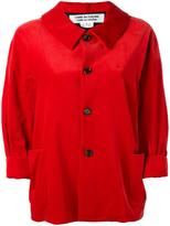 Comme des Garcons cropped sleeves jacket