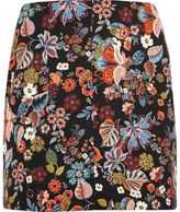 River Island Womens Plus red floral print mini skirt