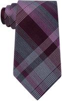 Kenneth Cole Men's Triple Plaid Tie