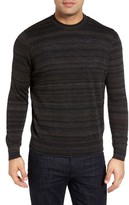 Thomas Dean Men's Stripe Merino Wool Sweater
