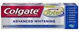 Colgate Total Advanced Whitening Gel Toothpaste, 4.0 Ounce (Pack of 6)