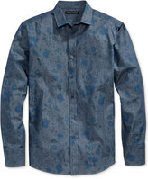 Vince Camuto Men's Floral-Print Cotton Shirt