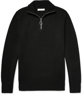 Sandro - Knitted Half-zip Sweater