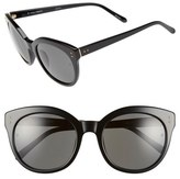 Linda Farrow 56mm Cat Eye Sunglasses