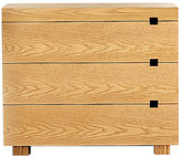 Cube Cutout 3-Drawer Dresser