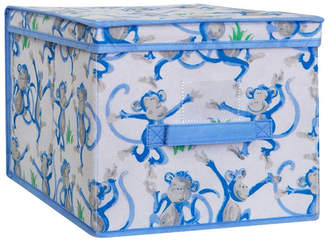 Laura Ashley Large Collapsible Storage Box in Cheeky Monkey