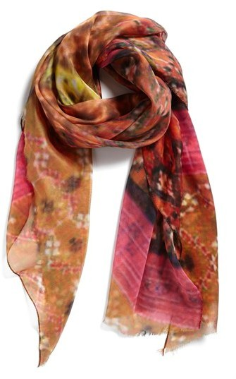 Nordstrom 'Tapestry Patches' Print Scarf