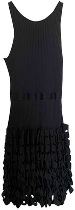 Maison Rabih Kayrouz Black Cotton Dresses