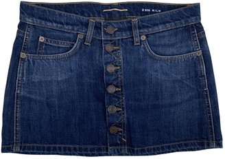 Saint Laurent Blue Denim - Jeans Skirts