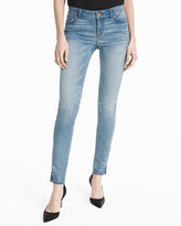 White House Black Market Embellished Skimmer Jeans