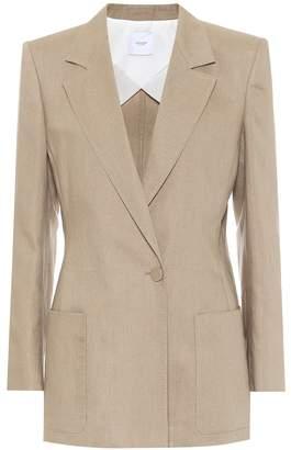 Agnona Linen and cotton blazer