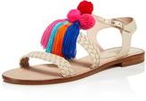 Kate Spade Sunset Tasseled Pom-Pom Sandals