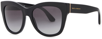 Dolce & Gabbana Black Oversized Sunglasses