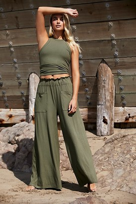 Fp Movement Blissed Out Wide-Leg Pants