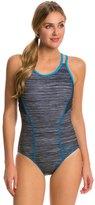Speedo Texture Double Strap One Piece Swimsuit 8138539