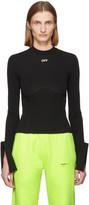 Off-White Off White Black Active Multi Detail Sweatshirt